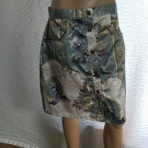 Newport News button up skirt